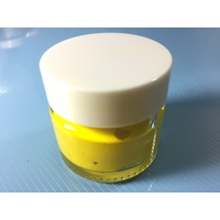 Yellow Stencil Paint Pot