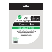 18mmx2mm x 4M Double Sided Foam Tape