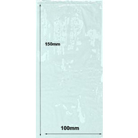 "Resealable Cellophane Bag (4""x6"") x 100"