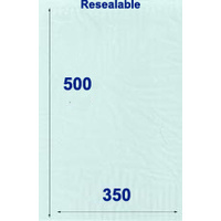 Resealable Cellophane Bag Extra Large Pack of 100