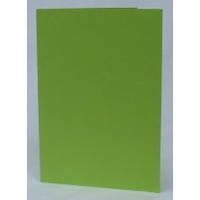 Lime Green Single Fold Card Size B (10 Pack)