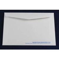 White Lick & Stick Envelope x 10