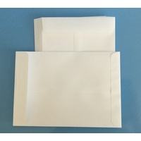 C5 White Lick & Stick Envelope x 10