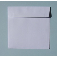 Square 130mm White Peel & Stick Envelope x 10