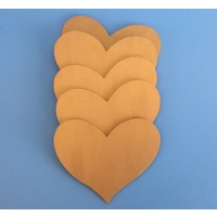 Wood Heart Large