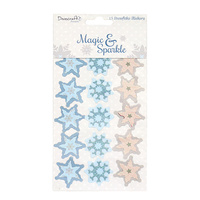 Magic & Sparkle 3D Snowflake Stickers
