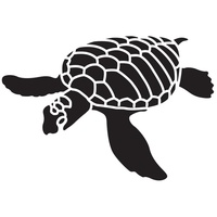 Dreamweaver Sea Turtle Stencil