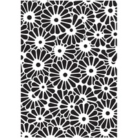 Dreamweaver Daisy Background Stencil
