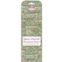 Deco Mache' Weathered Wood Decoupage Papers