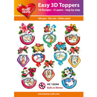 Hearty Crafts Winter Baubles Die Cut Paper Tole