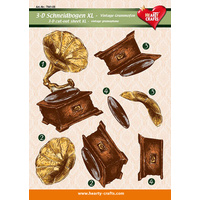 XL Gramophone 3D Cut Out Sheet
