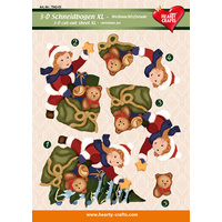 XL Christmas Child & Toys 3D Cut Out Sheet