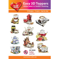 Hearty Crafts Coffee & Tea Die Cut Paper Tole
