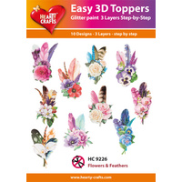 Feathers & Flowers 3D Paper Tole