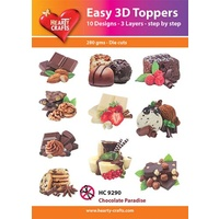 Hearty Crafts Chocolate Paradise Die Cut Paper Tole