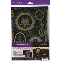 Hunkydory Midnight Silhouettes Let's Celebrate Adorable Scorable Card Topper Kit