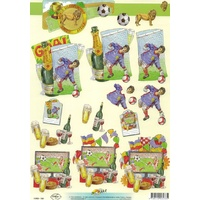 Soccer Celebrations Paper Tole
