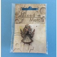 Mixed Metals Antique Gold Angel