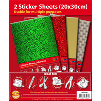 Gold Self Adhesive A4 Sticker Sheets