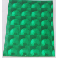 Green Multi Lens Self Adhesive Stickers