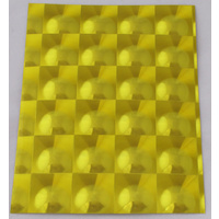 Yellow Multi Lens Self Adhesive Stickers