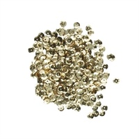 Sequins 5mm Cupped Gold