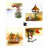 Country Scenes Decoupage & Card Toppers