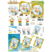 Cowboy & Sailor Children Paper Tole Sheet