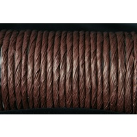 Chocolate Brown Paper Twist x 5mtr
