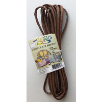 Chocolate Brown Paper Twist x 5.5mtr