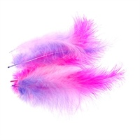 Feathers Hot Pink, Lavender & Soft Pink