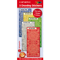 Hobby Dots Bright Colours Holographic Assorted Pack