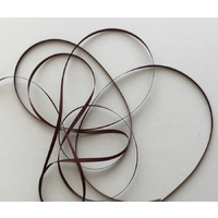 Poly Satin 3mm Brown Ribbon x 45mtrs