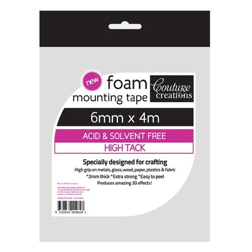 6mmx2mm x 4M High Tack Double Sided Foam Tape