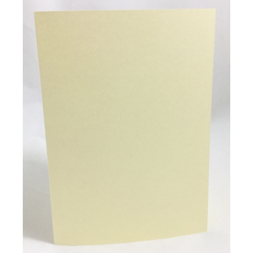 Cream Single Fold Card Size B/A6 (10 Pack)