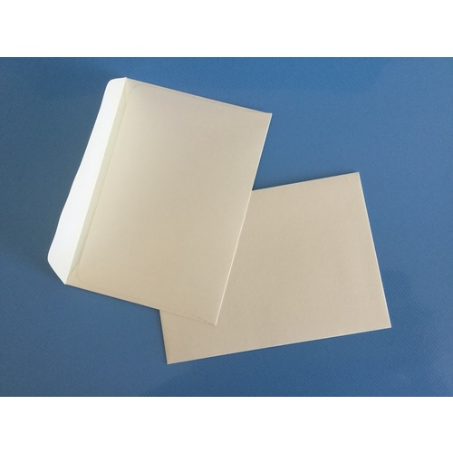 Card 130 x 180mm Ivory Lick & Stick Envelope x 10
