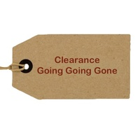Clearance Items Going Going GONE
