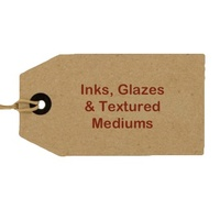 Inks & Glazes & Textured Mediums