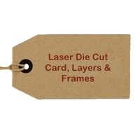 Laser & Die Cut Card Layers & Frames