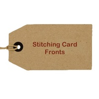 Stitching Card Fronts