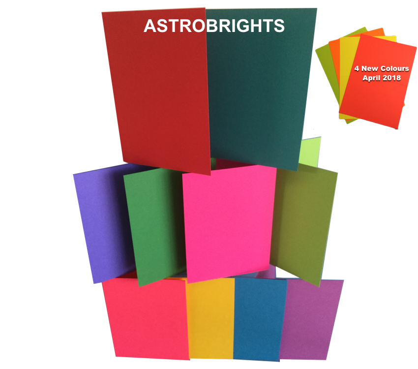 Astrobrights A6 Card Blanks