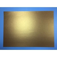 Bronze Gold 285gsm Shimmer Card