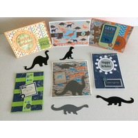 Dinosaur Card Making Kit - Create Five Cards