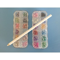Rhinestone Kit 2mm with Picker Pencil
