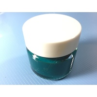 Green Stencil Paint Pot