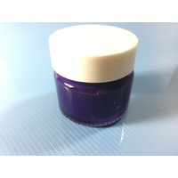 Purple Stencil Paint Pot