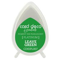 Couture Creations Pearlescent  Ink Pad Leave Green