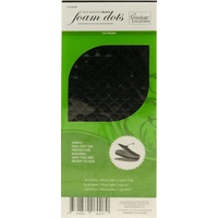 Couture Creations 3D Black Round Self Adhesive Dots 9mm x 2mm
