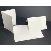 White Gloss Card Single Fold Size B (10 Pack)