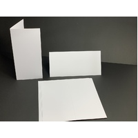 White 300GSM DL Cards Single Fold (10 Pack)
